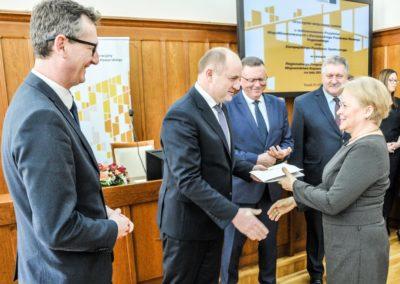 21.03.2018 Torun Podpisanie umow fot. Andrzej Goinski